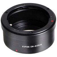 OM-EOS M KIPON KIPON マウントアダプター OM-EOS M ボディ側:キヤノンEF-M/レンズ側:オリンパスOM OMEOSMKIPON
