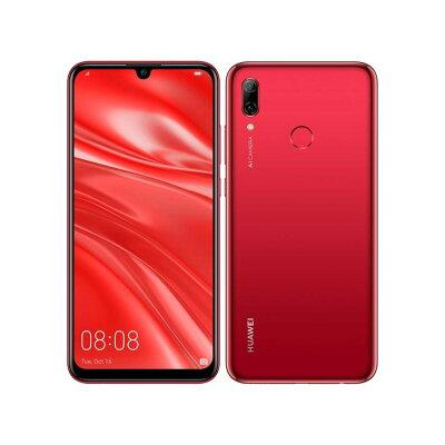 ファーウェイジャパン HUAWEI nova lite 3/Coral Red/51093JFY nova lite 3/Coral Red