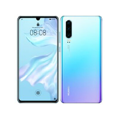 HUAWEI  TECHNOLOGIES SIMフリースマートフォン  ELE-L29 ブリージングクリスタル