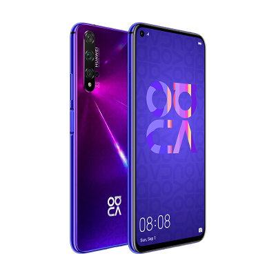 HUAWEI TECHNOLOGIES NOVA 5T SIMフリースマートフォンミッドサマーパープル