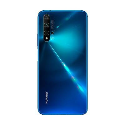 HUAWEI TECHNOLOGIES NOVA 5T SIMフリースマートフォン クラッシュブルー