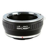 K&F Concept レンズマウントアダプター KF-LRM43 ライカRマウントレンズ → マイクロフォーサーズ