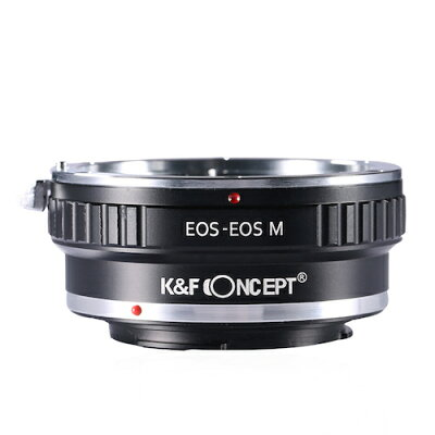 K&F Concept レンズマウントアダプター KF-EFEM キャノンEFマウントレンズ → キャノンEF-Mマウント変換