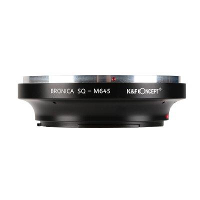 K&F Concept レンズマウントアダプター KF-BSQM645 ブロニカSQマウントレンズ → マミヤ645マウント変換