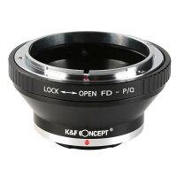 K&F Concept レンズマウントアダプター KF-FDQ