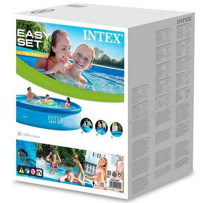 インテックス INTEX イージーセットプール 3.96m×84cm 28143