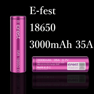 リチウムマンガン 電池 バッテリー 18650 35A