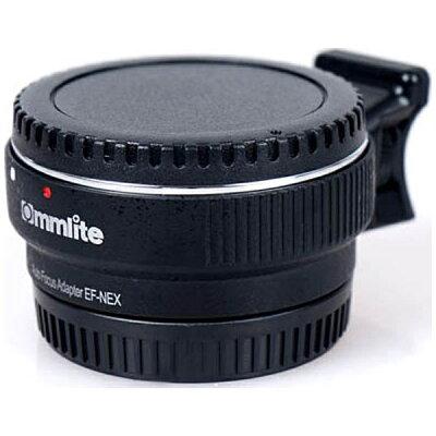 COMMLITE マウントアダプター カメラ側:ソニーEマウント、レンズ側:キヤノンEF CM-EF-NEX B