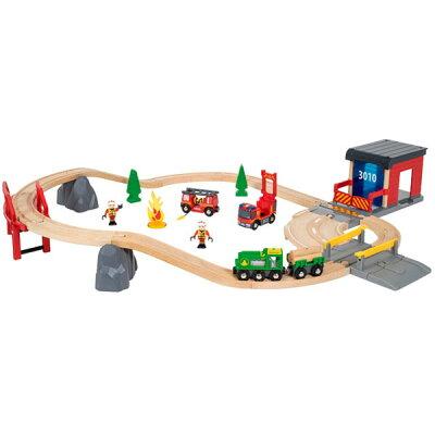 輸入玩具 BRIO ブリオ レスキューセット 33817