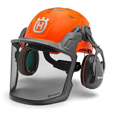 ハスクバーナ ヘルメットテクニカルH300 蛍光オレンジ ( 5850584-01 )