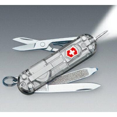 ビクトリノックス SWISSLITE WHITE LED 58mm シグネチャーライト シルバーテック 0.6226.T7-GB
