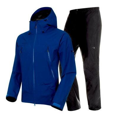 mammutマムートclimate rain suit af men's s 50142surf black1010-26551