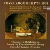 クロンマー 1759-1831 / Clarinet Concertos: Friedli / Pay / Eco 輸入盤
