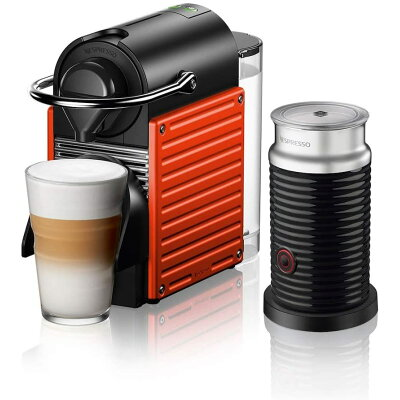 NESPRESSO コーヒーメーカー バンドルセット ピクシーツー C61RE-A3B