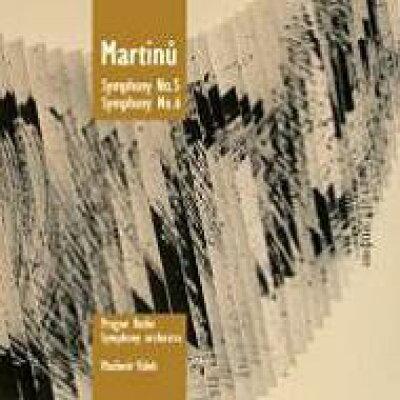 マルティヌー:交響曲第5番、交響曲第6番『交響的幻想曲』 ヴァーレク プラハ放送交響楽団 輸入盤