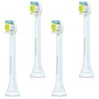 フィリップス ソニッケアー 電動歯ブラシ ダイヤモンドクリーン 交換用替ブラシ ミニ 4本 HX6074