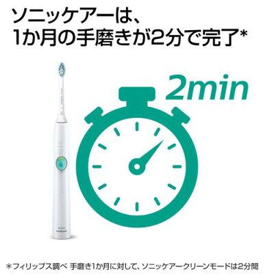 Sonicare イージークリーン 電動歯ブラシ HX6521/01
