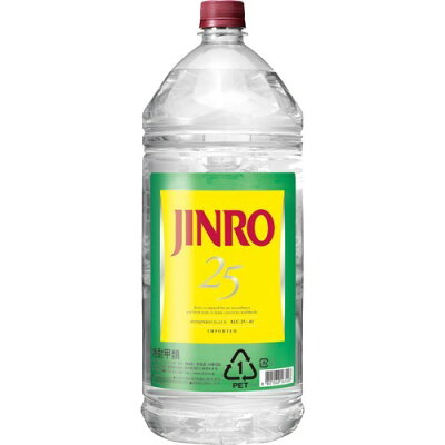 JINRO 25度(4L)