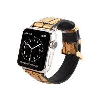 Apple Watch 42mm用バンド Gold Croco Gold グッズ