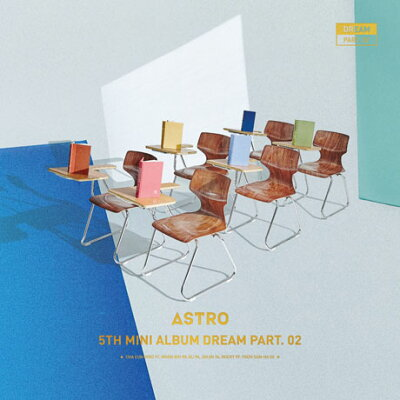 ASTRO アストロ 5TH MINI ALBUM : DREAM PART.02 WISH VER. CD