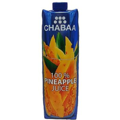 チャバ 100%ジュース パイナップル(1L)
