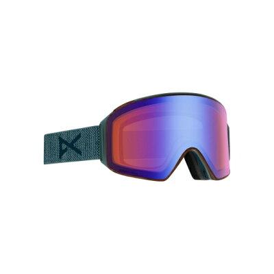 アノン ANON メンズ スノーボード ゴーグル M4 Cylindrical Goggle Asian Fit With Bonus Lens レイバック/ソナーブルー 20340101045