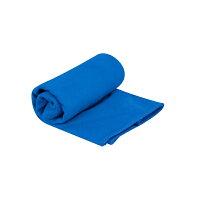 キャラバン DryLiteタオル 抗菌加工 ブルー XS