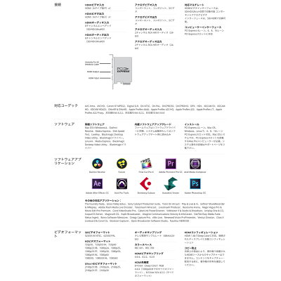 BLACKMAGIC DESIGN INTENSITY PRO 4K キャプチャーカード