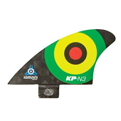 KOMUNITY コミュニティ KELLY SLATER ケリースレーター フィン Bullseye Nubsters- N3 FCS ブルザイエフシーエスプラスナブスターエヌスリー ラスタ