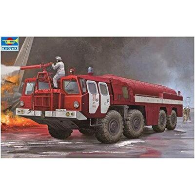 1/35 ソビエト MAZ-7310 空港用化学消防車 プラモデル トランペッターモデル