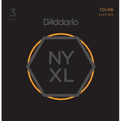 D'Addario / NYXL1046-3P 10-46 NYXL  エレキギター弦 ダダリオ