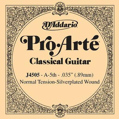 ダダリオ D'Addario クラシックギター用バラ弦 ノーマルテンション J4505