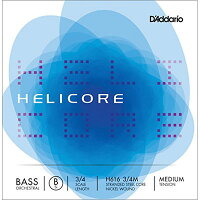 DADDARIO D'Addario ウッドベース弦H616 3/4M HELIC ORCH LOW-B MED