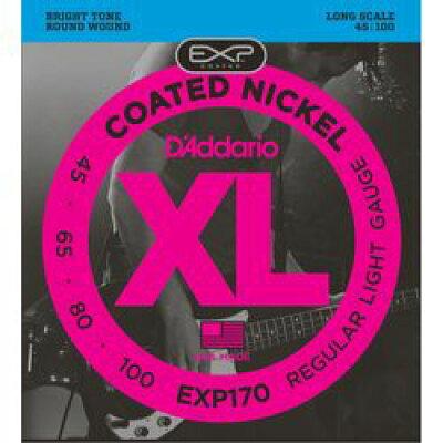 エレキベース弦 D'Addario EXP170