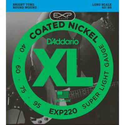 daddario コーティング・ベース弦 exp220