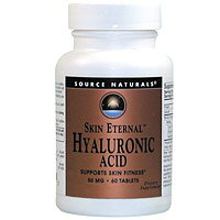Source Naturals Hyaluronic Acid from BioCell Collagen II 60 tabs 50 mg