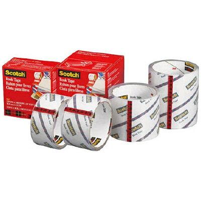 スコッチ(R)透明ブックテープ 書籍補修補強用テープ 845 76 04642