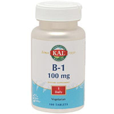 ビタミンB1 100mg 100粒