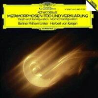 Strauss, R. シュトラウス / Metamorphosen, Tod Und Verklarung: Karajan / Bpo 1982, 1980 輸入盤