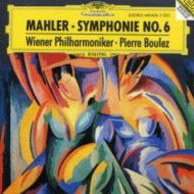 Mahler マーラー / 交響曲第6番 悲劇的 ブーレーズ&ウィーン・フィル 輸入盤