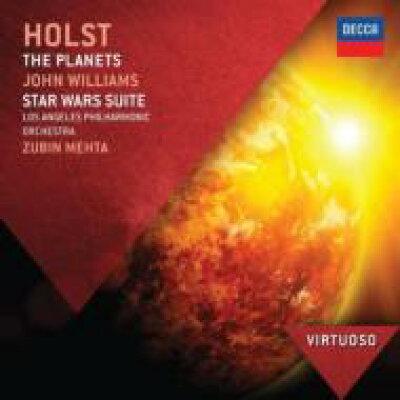 Holst ホルスト / ホルスト: 惑星 、ウィリアムズ: スター・ウォーズ 組曲 メータ&ロサンジェルス・フィル 輸入盤