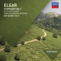 Elgar エルガー / 交響曲第1番、序曲 南国にて ショルティ&ロンドン・フィル 輸入盤