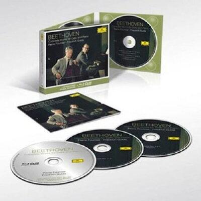 Beethoven ベートーヴェン / チェロ・ソナタ全集、変奏曲集 ピエール・フルニエ、フリードリヒ・グルダ 2CD+ブルーレイ・オーディオ 輸入盤