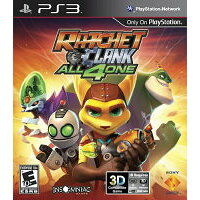 Ratchet Clank: All 4 One 輸入版