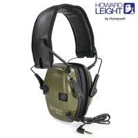 HOWARD LEIGHT エレクトリック・イヤーマフ NRR22 周囲音聴取機能 防音ヘッドフォン型耳あて、射撃や騒音作業に