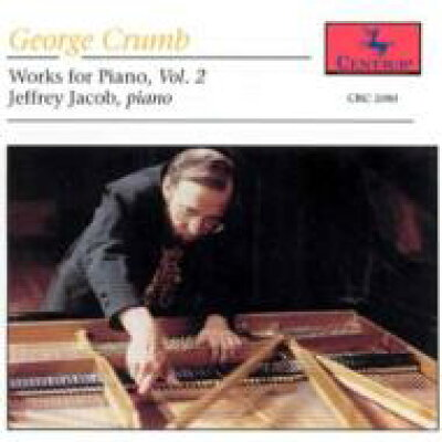 George Crumb / Works For Piano Vol.2 輸入盤