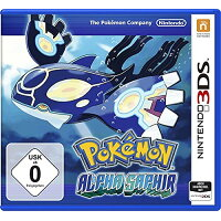 3DS Pokemon Alpha Sapphire. Fur Nintendo 3DS 輸入版:ドイツ