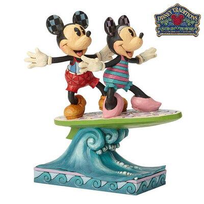 ミッキー & ミニー サーフボード Minnie & Mickey Surfboardディズニー フィギュア