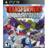 PS3 北米版 Transformers Devastation トランスフォーマー デバステーション
