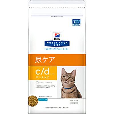 プリスクリプション・ダイエット 猫用 c/d マルチケア 尿ケア フィッシュ入り 500g